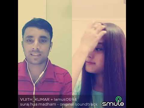 Suraj Hua Maddham video song