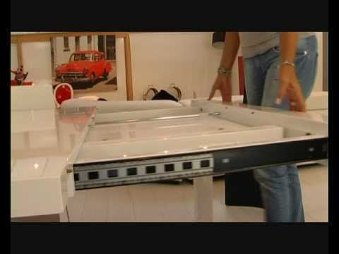 Veliki table de salle manger rallonge youtube for Table manger rallonge