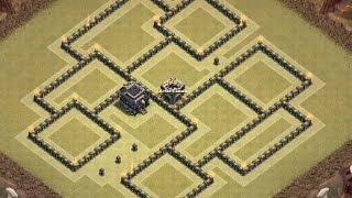 Th9 War base | Th9 base de guerra | Clash of Clans