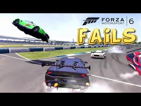 Forza Motorsport 6 FAIL Compilation