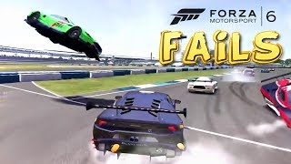 Forza Motorsport 6 FAIL Compilation