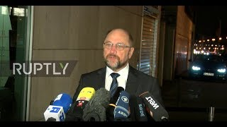 Germany: Schulz buoyed by mandate as GroKo talks continue in Berlin
