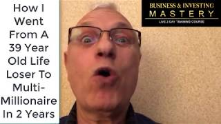 Business and investing mastery speaker 3