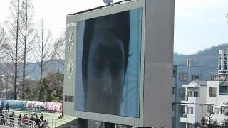 中野裕太にかおりんがインタビューです 2012.3.25 ファジアーノ岡山VSモ...