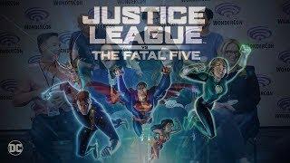 We interview voice cast of Justice League Vs. Fatal Five