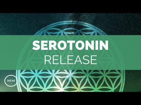 Serotonin Release - Produce Natural Serotonin - 10.5 hz Alpha Binaural Beats