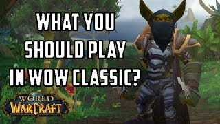 [WoW] What Class YOU Should Play In WoW Classic? Vanilla WoW Class Stats & Tiers
