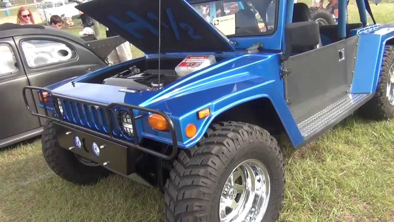 Humvee Kit Car Body On Vw Chassie Youtube