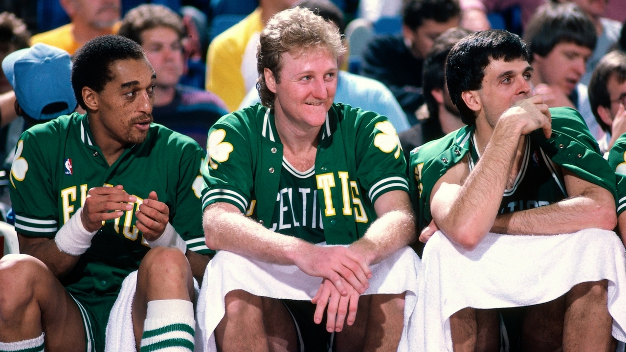 Did Larry Bird Really Play A Whole Game Using Only His Left Hand  - YouTube 2298cdf75
