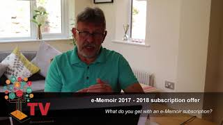 e Memoir TV advert Aug 2017 update