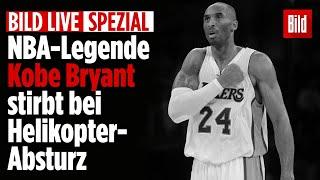 🔴 NBA-Legende Kobe Bryant bei Helikopter-Absturz gestorben   BILD Live von 26.01.2020