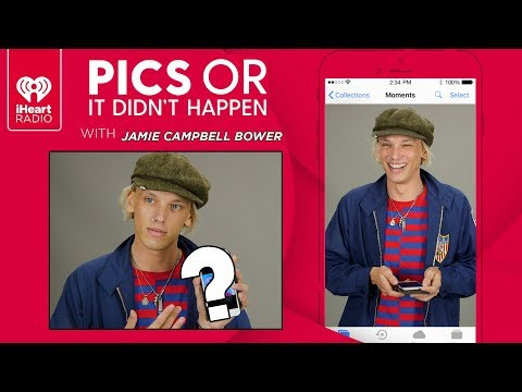 Jamie Campbell Bower Shows Off Personal Photos From His Phone!   Pics Or It Didn't Happen
