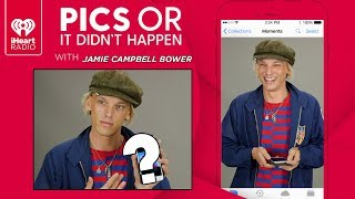 Jamie Campbell Bower Shows Off Personal Photos From His Phone! | Pics Or It Didnt Happen YouTube Videos