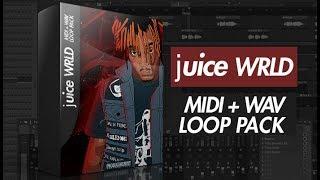 juice WRLD WAV + MIDI Loop Pack (20 juiceWRLD Type Trap Samples)