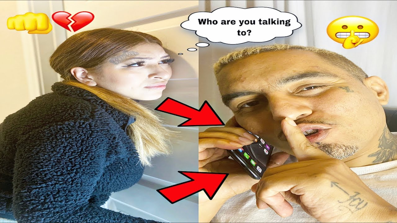 GOT CAUGHT CHEATING PRANK !! **SHE WAS HELLA MAD** - YouTube