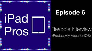 Readdle Interview - Productivity Apps (iPad Pros - 0006)