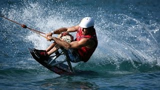 Champion Disabled Sit Down Wakeboarder