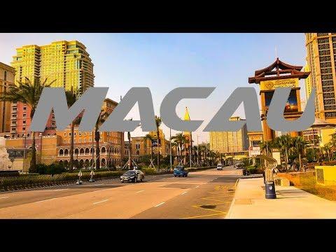 Walking Macau Cotai Strip Casino Street