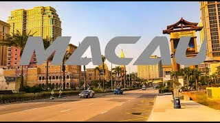 Walking Macau Cotai Strip Casino Street