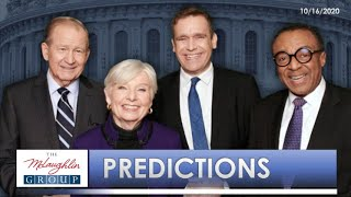 Predictions from The McLaughlin Group (10/16/2020)