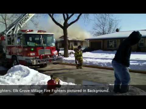 Elk Grove Village 3 Alarm Residential Fire