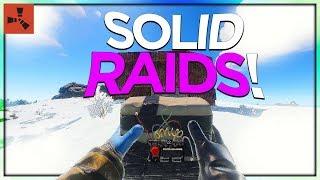 SOLO RAID DAY! (SOLO VANILLA RUST #7 S34)