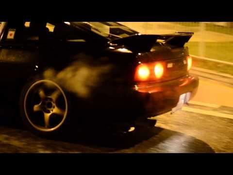 Car Meet and Street Drifting in Dublin, Ireland- HD