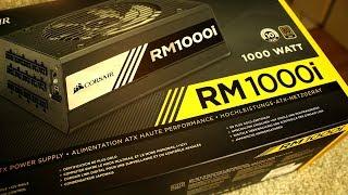 Corsair RM 1000i PC Netzteil - Leistung satt | Perfektes Weihnachtsgeschenk | Unboxing Deutsch thumbnail