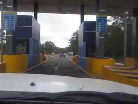 manejando de Comayagua a Tegucigalpa, Honduras