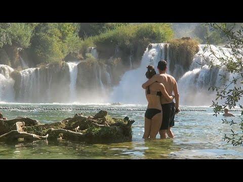 Croatian Waterfalls + ABANDONED FORTRESS!