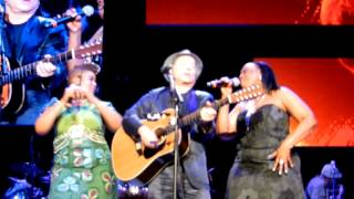 Paul Simon, Thandiswa Mazwai & Sonti Mndebele - Under African Skies - Brussels July 17, 2012