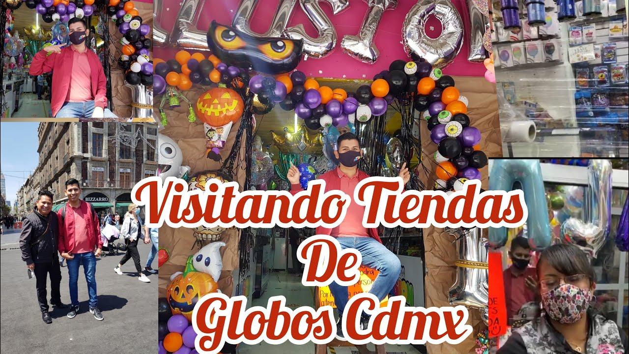 visitando Tiendas De Globos en Ciudad de México