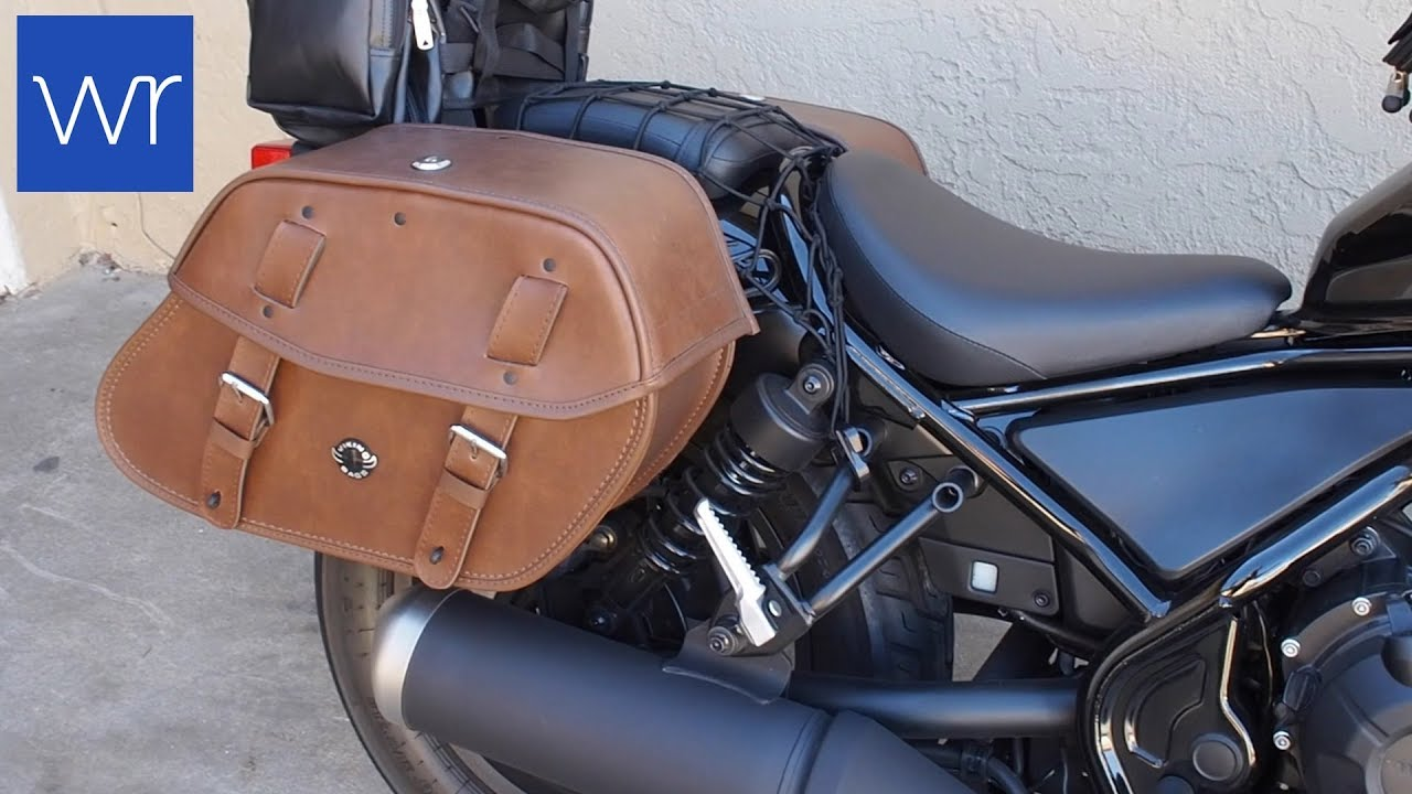 classic fit official site retail prices New Honda Rebel 500 with VikingBags Odin Brown Large ...