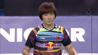 Victor Korea Open 2017 | Badminton SF M4-WS | Pusarla V. Sindhu vs He Bingjiao