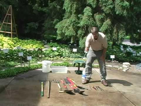 Digging and Dividing Hostas.  Part 1: Garden Tools