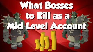 What Bosses Should I Hunt as a Mid Level? [OSRS GIVEAWAY]
