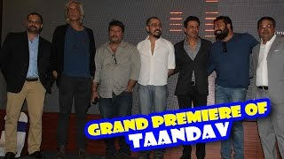 Taandav Movie Premiere Full Video