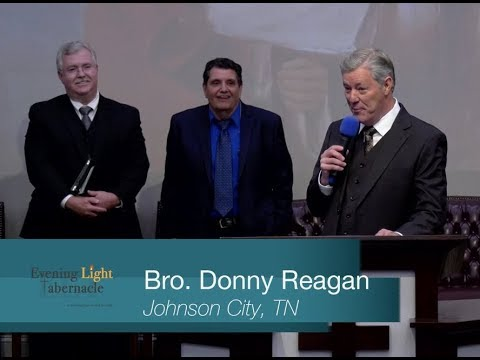 17-1202am - God's Place of Worship - Brother Donny Reagan