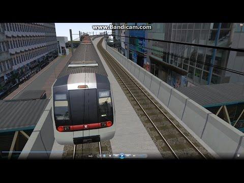 Omsi good scenery (004) MTR 港鐵 觀塘綫 ( Hong Kong Mass Transit Railway ) Kwun Tong @ 296A City