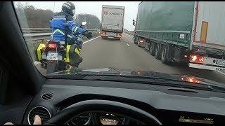 LA POLICE M'INTERCEPTE AVEC LE C63 AMG !