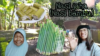 Download lagu Cara membuat Nasi jaha Nasi bambu MP3