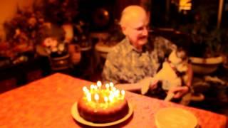 Mischief The Pug Sings Happy Birthday To Grandpa!