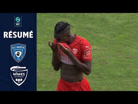 CA Bastia Nimes Goals And Highlights