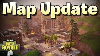 New Cities/POIs and Updated Map (Fortnite Battle Royale Update 2.2.0)