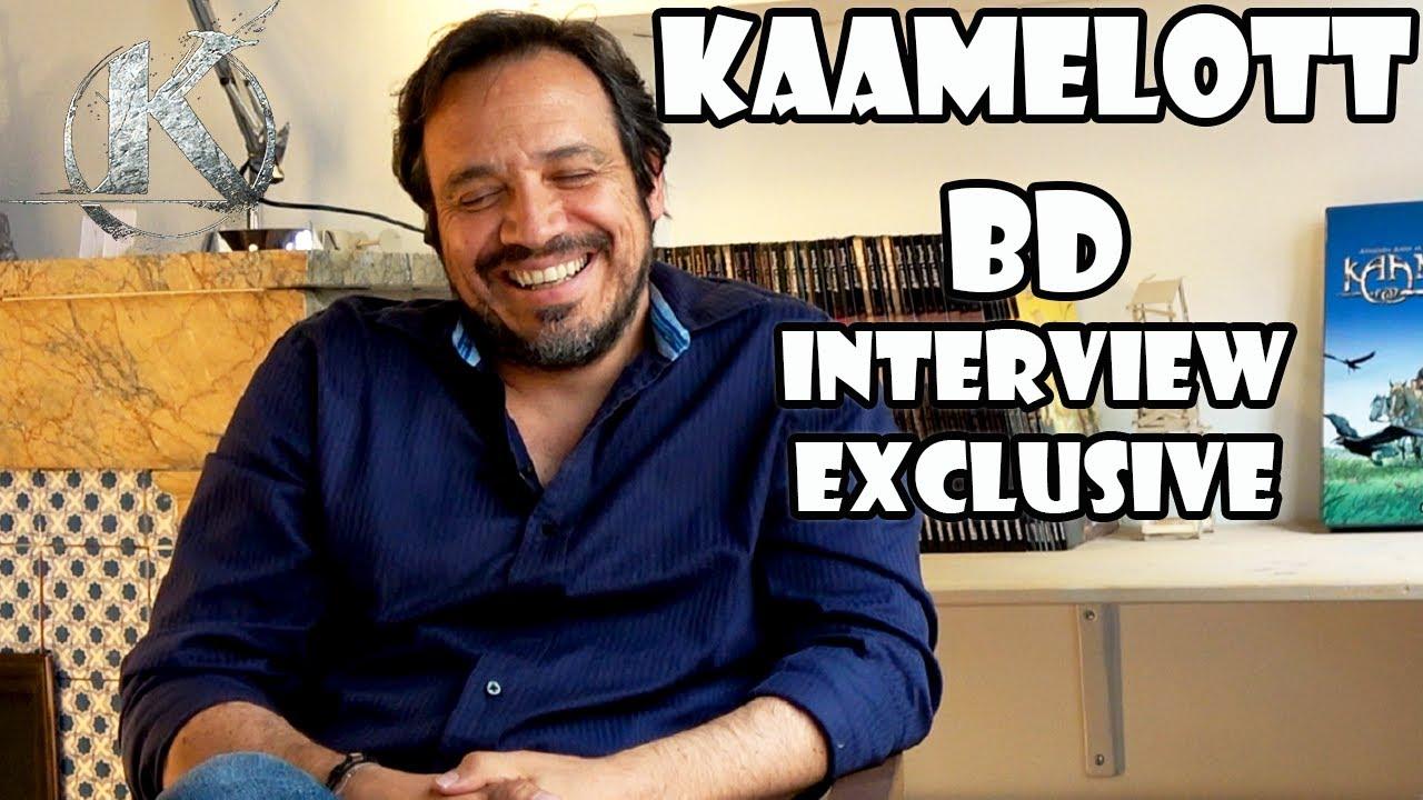Interview Alexandre ASTIER : BD KAAMELOTT, inspirations, fantasy, etc.