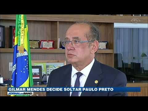 Gilmar Mendes Decide Soltar Paulo Preto