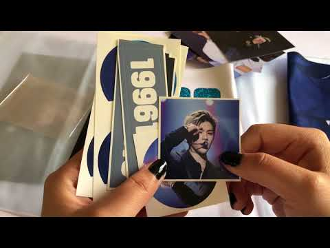 Kang Daniel Slogan FANSITE GOODS UNBOXING Wanna One