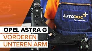 Wie OPEL ASTRA G Hatchback (F48_, F08_) Raddrehzahlsensor austauschen - Video-Tutorial