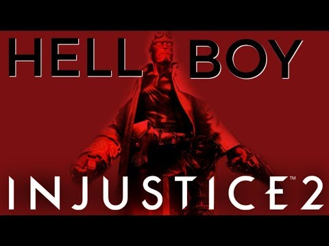 HELLBOY POTENTIAL GAMEPLAY & RELEASE DATE - INJUSTICE 2