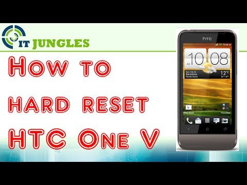 How to Hard Reset HTC One V